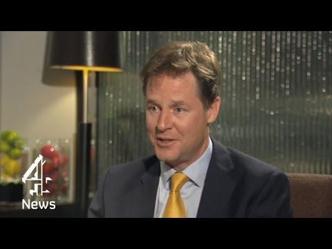 Nick Clegg: 'I'm anti-establishment'   Channel 4 News