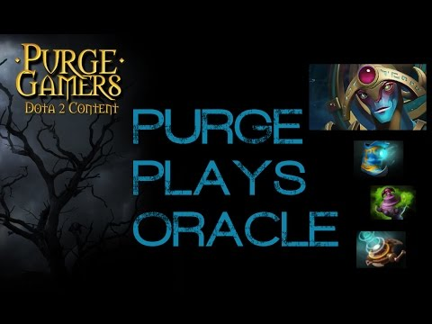 Dota 2 Purge plays Oracle