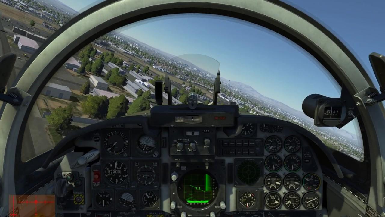 Aerobatics cockpit