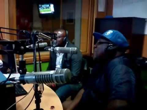 Papa Shirandula's interview at Radio Jambo studios