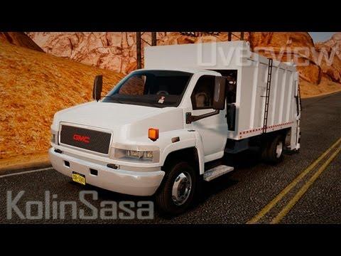 GMC C5500 Topkick Trashmaster