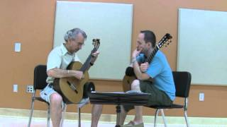 Denis Azabagic teaches Study in B min, no. 5 by Fernando Sor