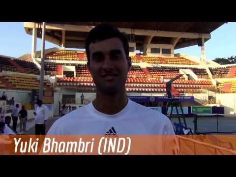 Yuki Bhambri Greetings from Chennai