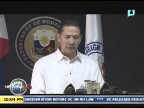 DFA: 14 Filipino crewmen, back in PH