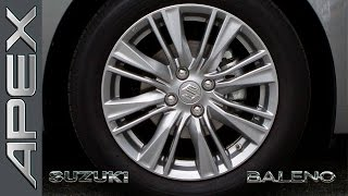 SUZUKI BALENO 1.2 SHVS - STABILITY- (ESP) + SUSPENSION TEST (2016)