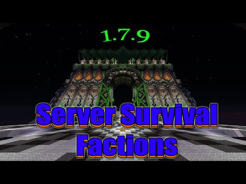 Minecraft Server Survival/Factions PVP 1.7.9 l No Premium Sin Lag l No Hamachi 2