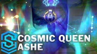 Cosmic Queen Ashe Skin Spotlight - League of Legends