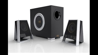 Altec Lansing 2621 Desktop/Multi Media Speakers Unboxing and Sound Review