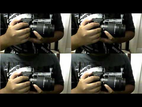 Canon Rebel Xs/1000D Shutter speed