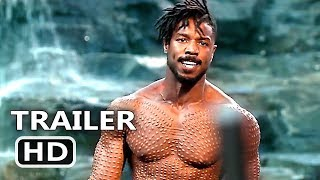 BLACK PANTHER Final New Trailer (2018) Superhero Marvel Movie HD
