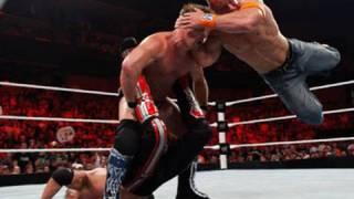 Raw: John Cena vs. Edge vs. Chris Jericho - WWE