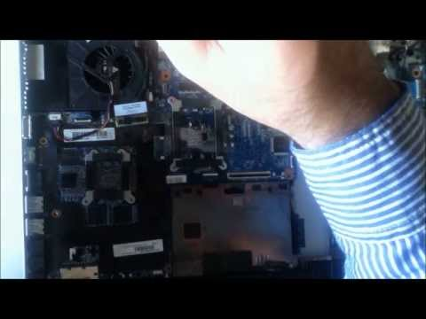 HP Pavilion DV6 6090 fan replacement / reemplazar ventilador