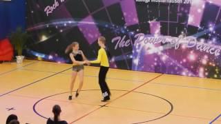 Nele Flechtner & Lukas Köpping - Deutsche Meisterschaft 2016