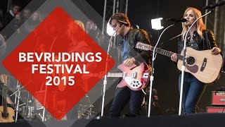 Interview the Common Linnets @ Bevrijdingsfestival Zwolle 2015 | NPO Radio 2