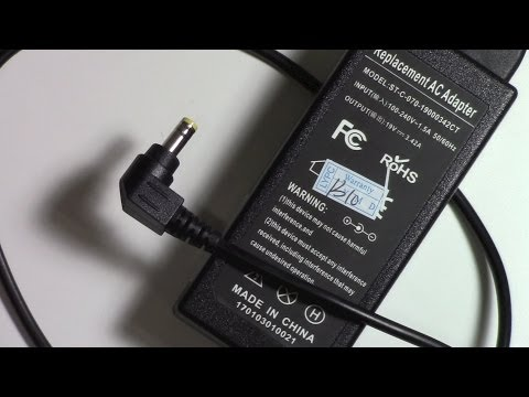 How to repair a AC adapter power supply plug for azus laptop