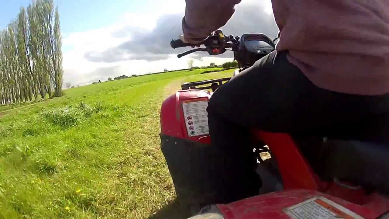 Quad Honda 250 Honda Trx250 Farm Quad Gopro