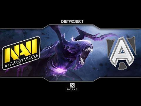 Alliance vs Na'Vi - 2 game @ D2CL IV LightOfHeaven ( 01.09.2014 )