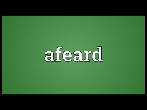 Header of afeard