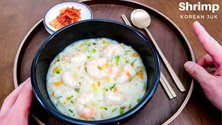 Recovery Meal: Korean Shrimp Porridge | For the Family!