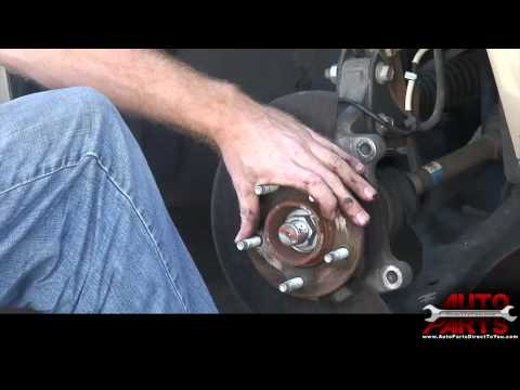2006 Pontiac Torrent Hub Bearing Repair