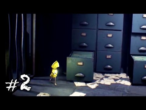 Little Nightmares Gameplay Part 2 - Falling on my Face...
