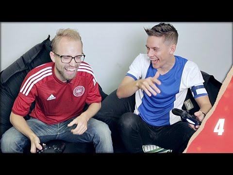 FIFA 15 Challenge: Finland vs Denmark - Christmas in Unisport 2014 Episode 4