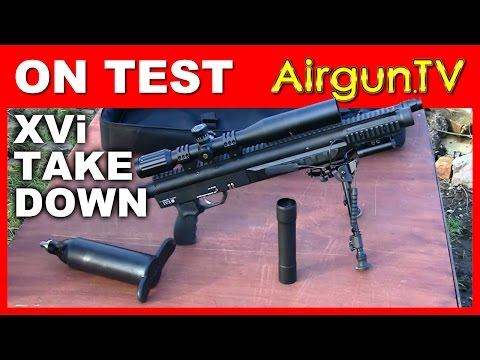 REVIEW: The XVi Tactical take-down air rifle