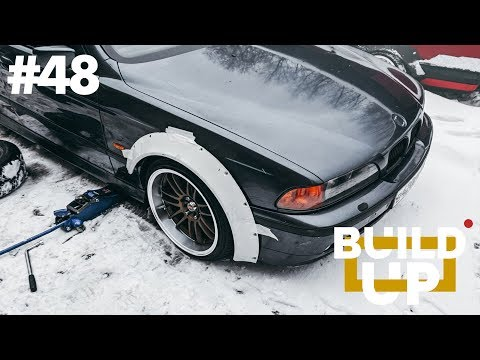 ЖИРНОЕ РАСШИРЕНИЕ CLINCHED НА BMW E39