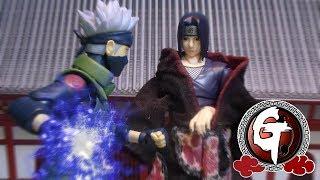 Itachi VS Kakashi-Naruto Stop Motion はたけカカシ VS うちはイタチ 火影忍者-卡卡西VS宇智波鼬