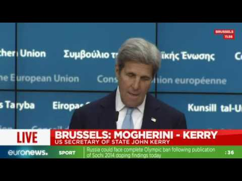 [Full speech] John Kerry comments EU-US issues inc. Turkey, Nice & Brexit