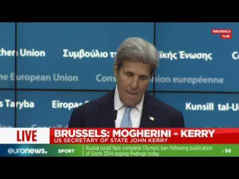 [Full speech] John Kerry comments EU-US issues inc. Turkey, Nice & Brexit