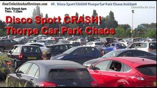 Land Rover Discovery Sport CRASH! Thorpe Park Chaos!