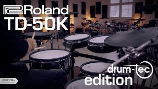 Roland TD-50K electronic drums drum-tec edition upgrade