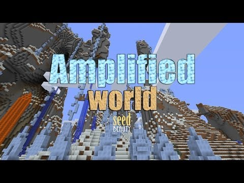 Minecraft Amplified World Amazing Seed