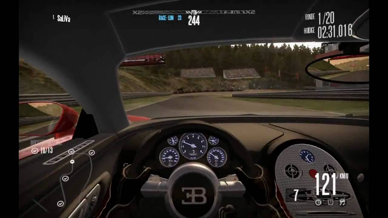need for speed shift gameplay bugatti veyron youtube. Black Bedroom Furniture Sets. Home Design Ideas