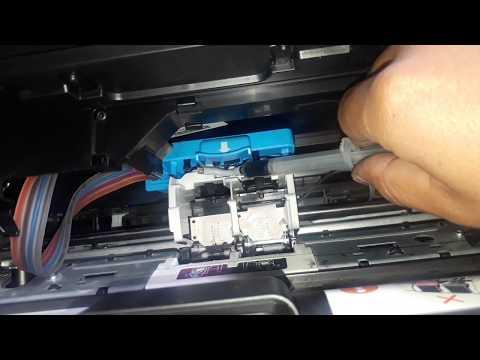 🤕Quitar el aire de las mangueras Impresora HP Desjet GT5810