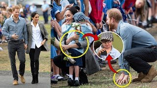 When Harry and Meghan Met A Boy With Down Syndrome, The Pair Decided To Break Royal Protocol