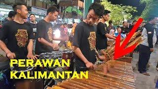 PERAWAN KALIMANTAN - Permainan Musiknya Semakin Rapi (Angklung Malioboro) CAREHAL emang Top