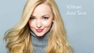 Dove Cameron Real Voice (Without Auto Tune)