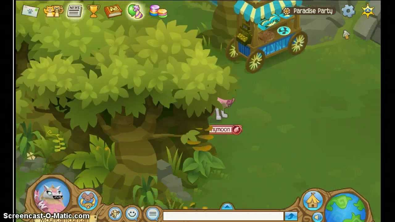 All the birds of Paradise on Animal jam - YouTube