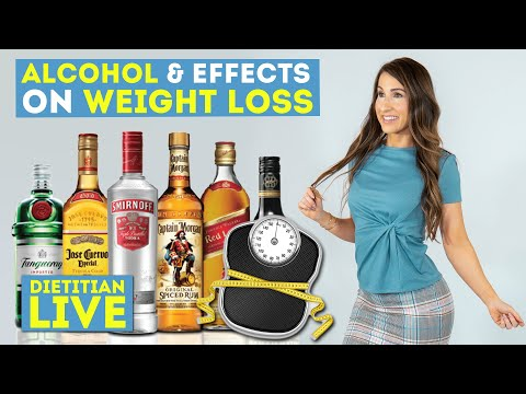 Alcohol & Weight Loss - Quitting Tobacco & Curbing Appetite - Dietitian Live Chat