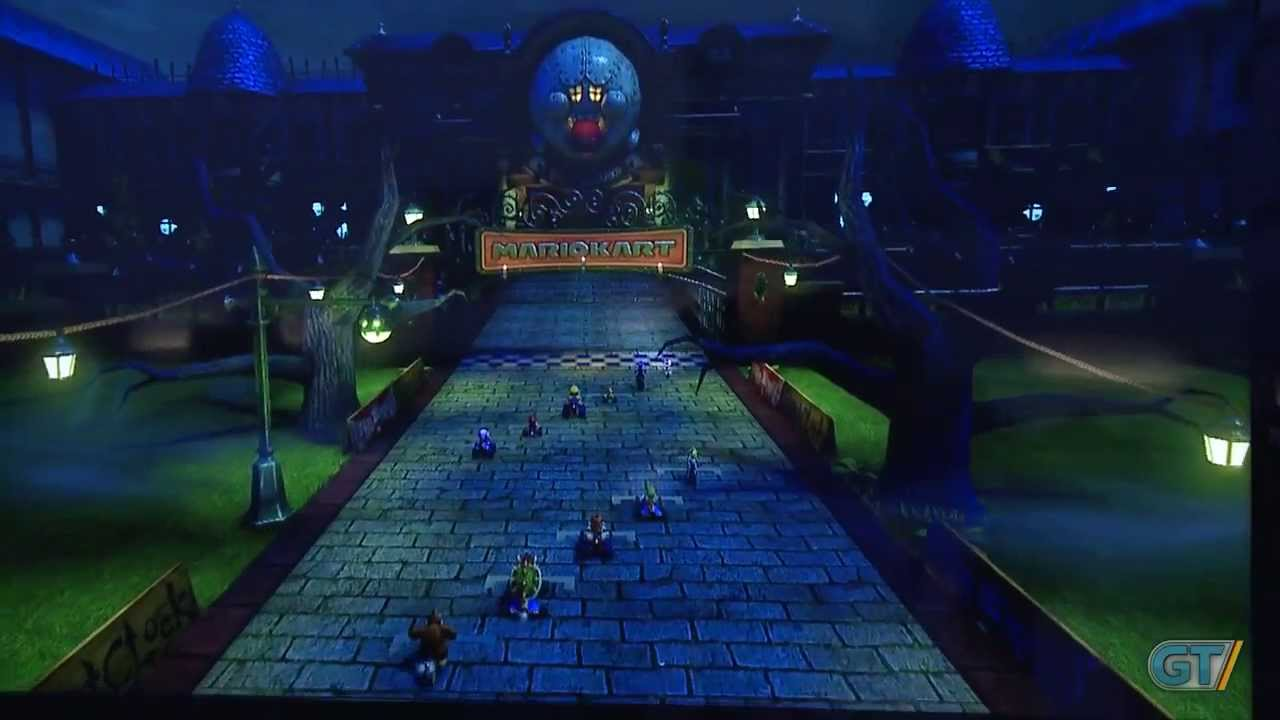 Mario Ghost House 3 Mario Kart 8 Ghost House