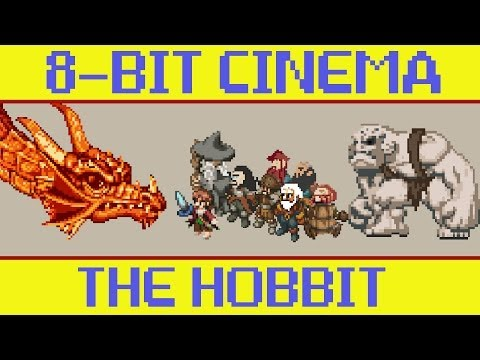The Hobbit - 8 Bit Cinema
