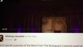 Whitney Houston Run to you live Radio city hall 1994 Snippet
