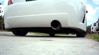 2005 Honda Civic Si-Apexi Exhaust system