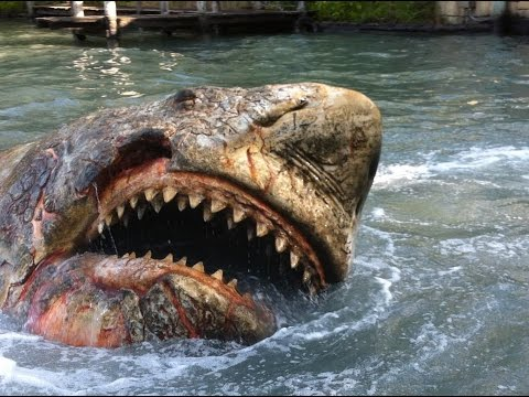 Jaws Ride -  converted to 60FPS - Universal Studios Orlando