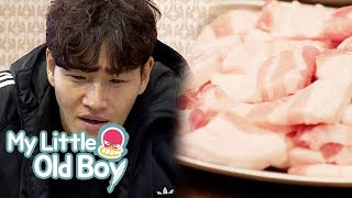 """Kim Jong Kook """"Why are there just fat..?"""" [My Little Old Boy Ep 126]"""