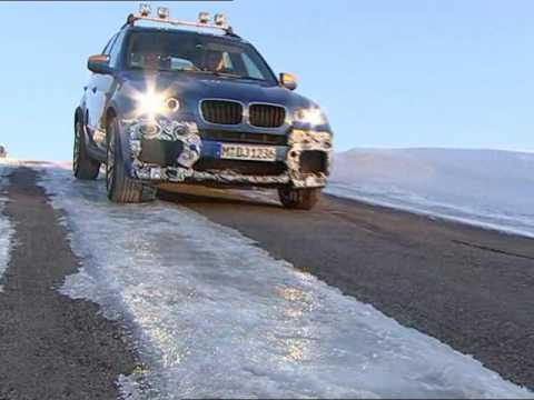 New BMW X6M and X5M Testing grounds in Arjeplog Sweden