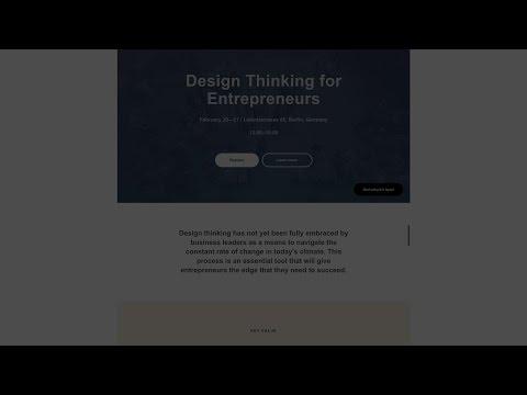 Как сделать одностраничный сайт на платформе Tilda Publishing