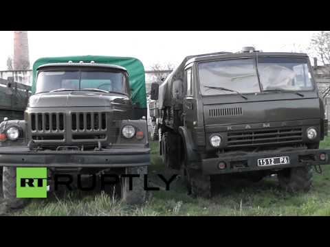 Russia: Ukrainian military equipment returned by Crimean authorities